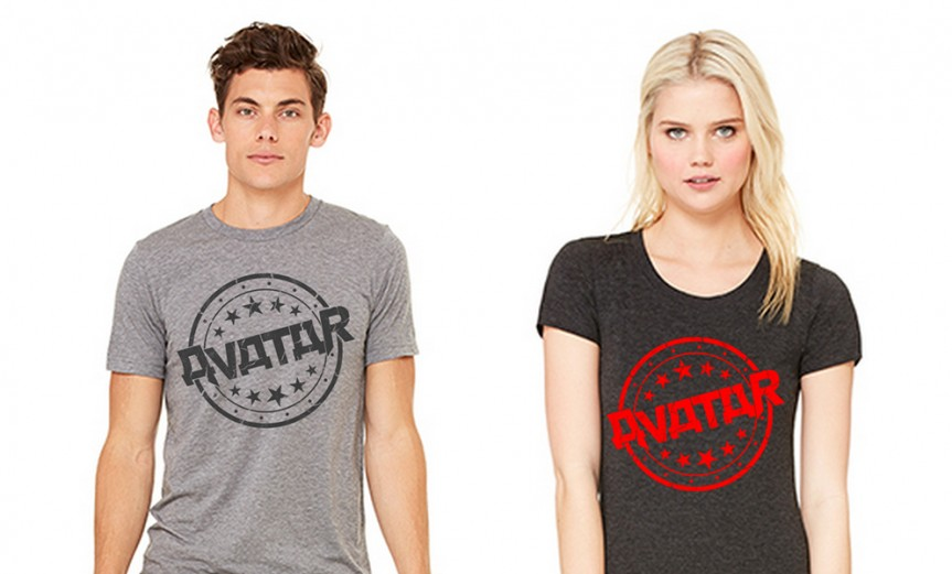 Avatar stamp mens and ladies