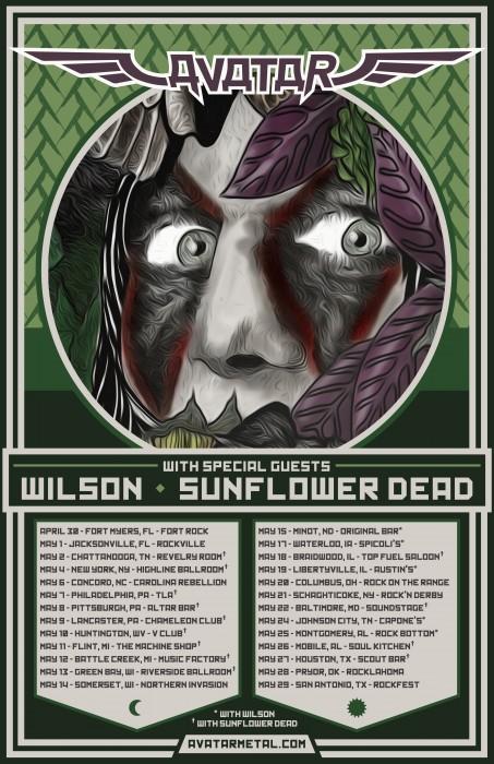Avatar Spring 2016 tour poster final